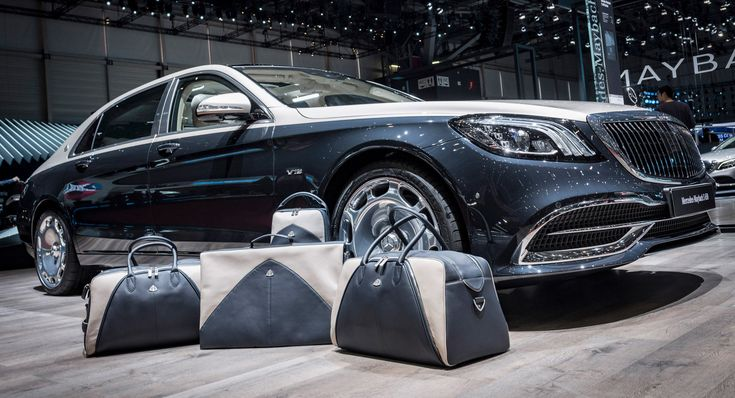Mercedes Offers Maybach S650 Customers A Matching Luggage Set – And Much More #news #Geneva_Motor_Show