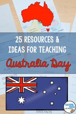 Teaching about Australia? In this blogpost you will find 25 ideas and resources! Use it as an Australia Day resource or as part of a unit on Australia. Lots of variety and fun! Worksheets, activities and games - engaging and fun learning about Australia.