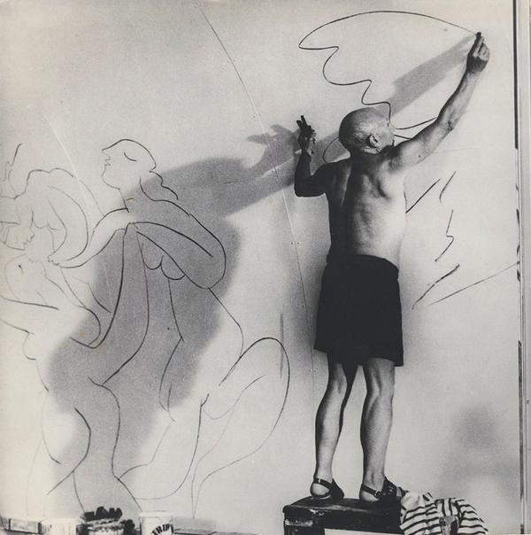 Picasso, 1960. Photograph by Brassaï