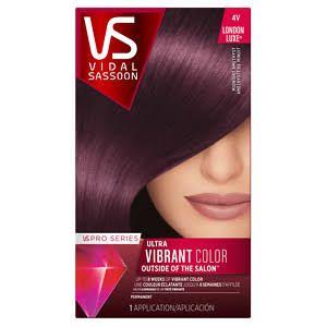 permanent purple hair dye - Google Search