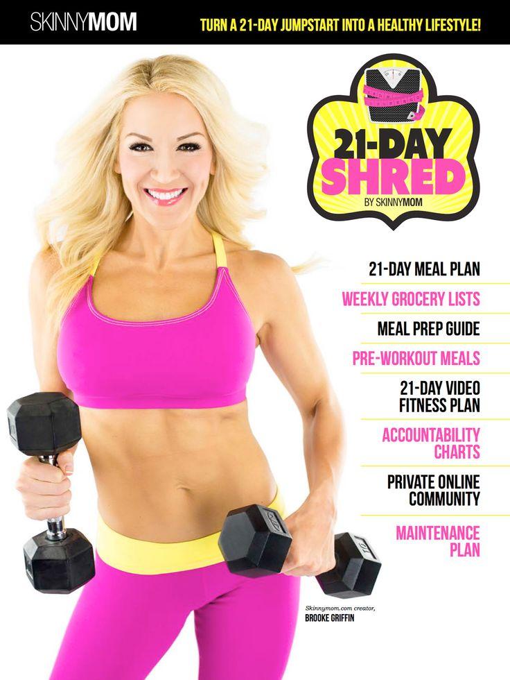 Skinny Mom   The 21-Day Shred – Digital Download