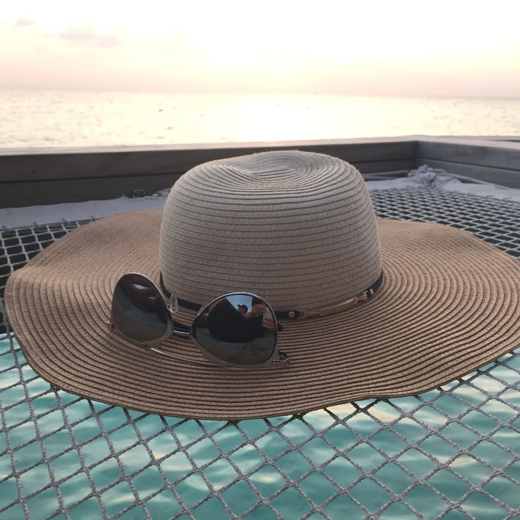 Genie by Eugenia Kim Cecily Hat on location in the Maldives