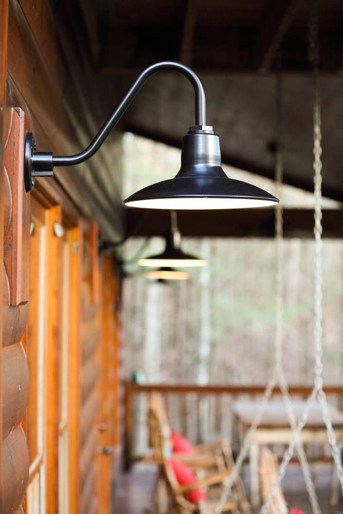 District Gooseneck Light   Barn Lighting by BarnLightElectric.com