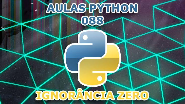 Aulas Python - 088 - GUI Tkinter II: Widgets Label, Button e Entry