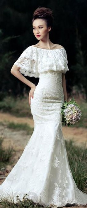 Lace Wedding Gowns Perth : Dresses lace wedding weddings bridal gowns friend