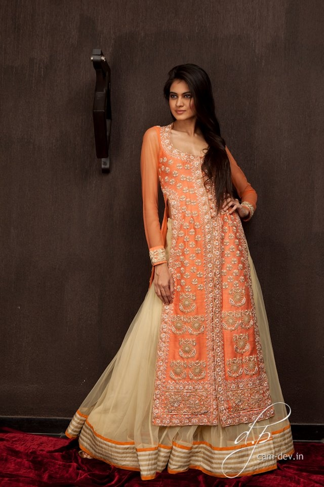Love Pakistani lehengas they're so modest and stylish