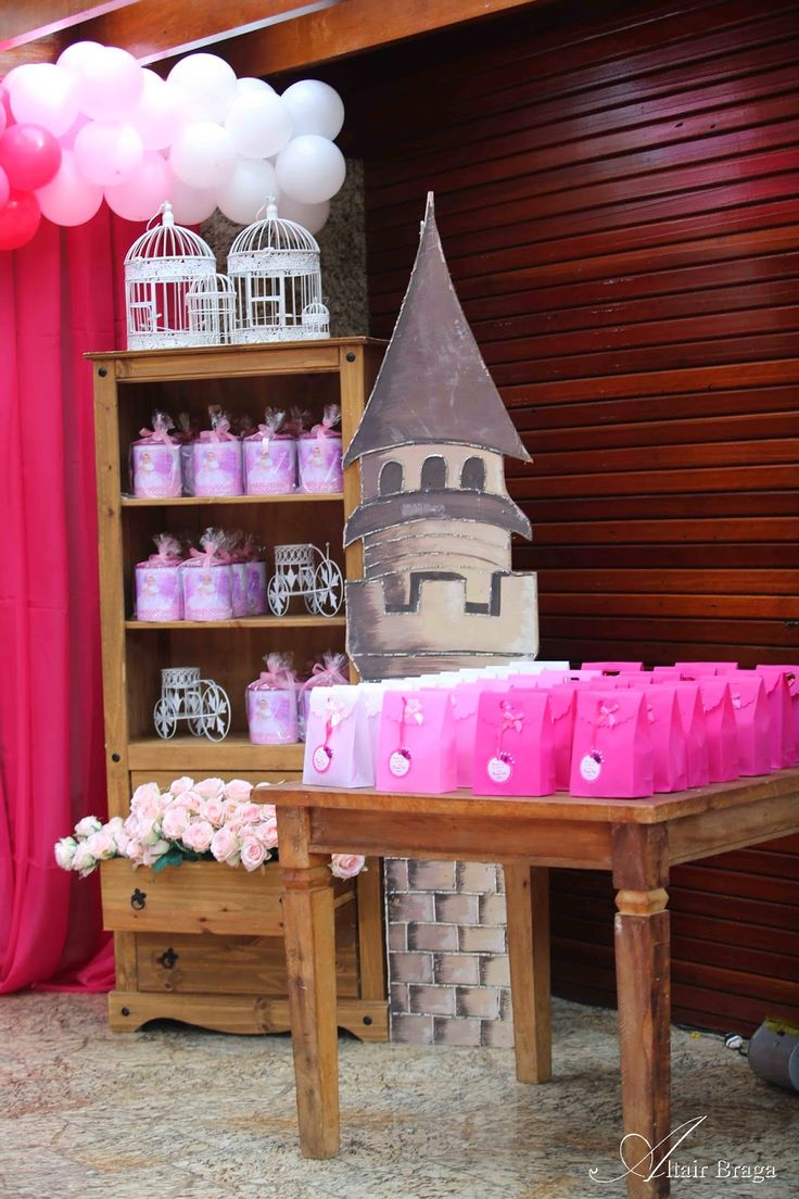 COMMEMORI EVENTOS Fotógrafo: Altair Braga: Decoração de Princesa