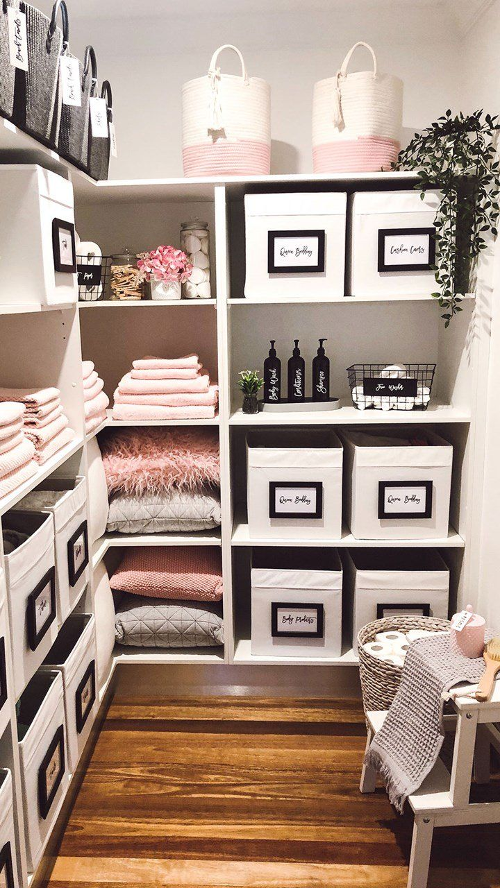 This Sydney mum's linen cupboard is picture perfect   Linen ...