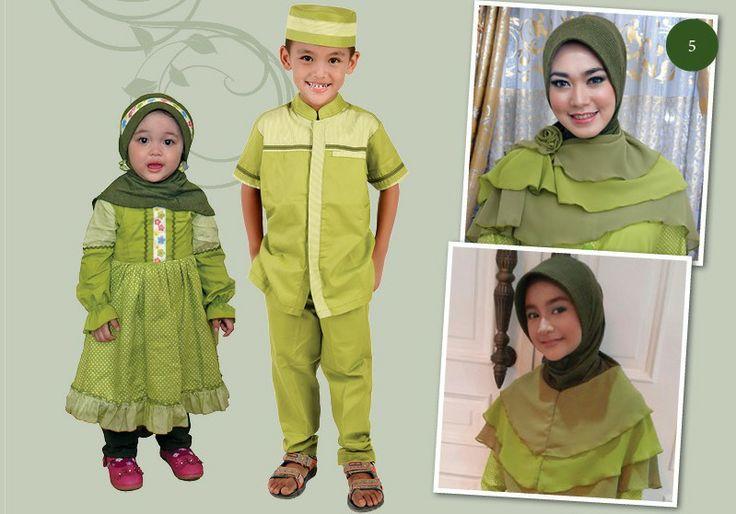 Baju Muslim Keluarga Galis 010 Lebaran 2014 | Warung Muslimah http://warungmuslimah.com/sarimbit-keluarga/galis/baju-muslim-keluarga-galis-010-lebaran-2014