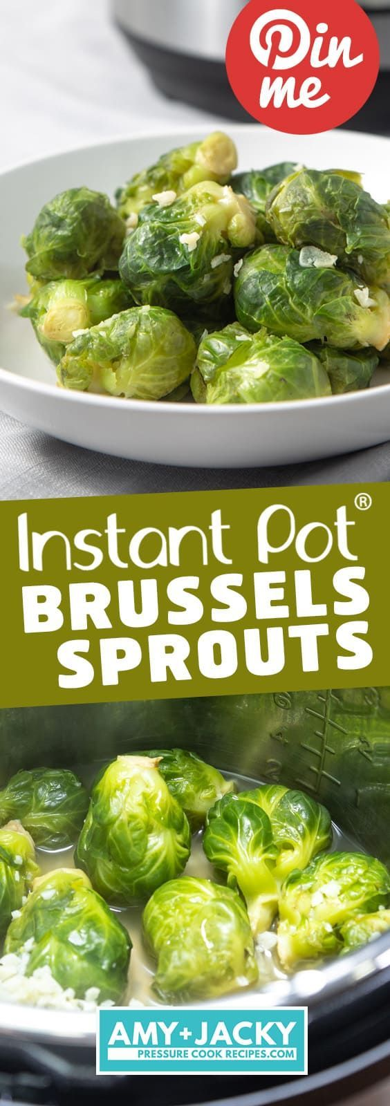 Instant Pot Brussels Sprouts | Pressure Cooker Brussels Sprouts | Instapot Bruss…