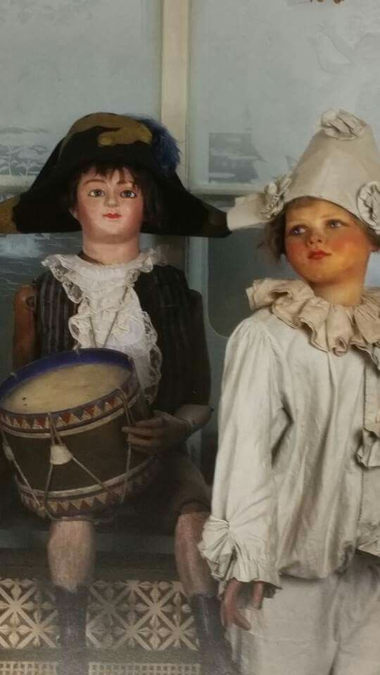 French antique dolls