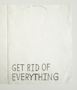 nevver:    Get Rid of Everything