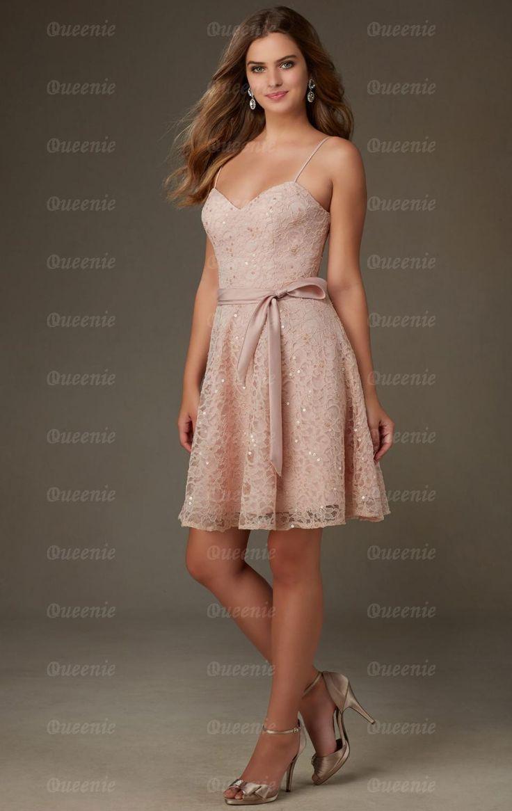 2015 Light Pink Bridesmaid Dress BNNCL0017-Bridesmaid UK