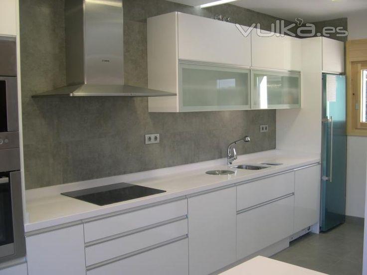 Muebles Para Cocina Color Blanco. Cheap Mueble Auxiliar De Melamina ...