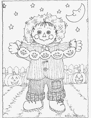 Get a free 32 page Halloween coloring book for your little pumpkins!