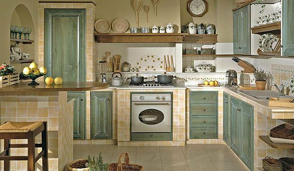 Cucina in muratura cucina pinterest kitchens cucina - Cucina country in muratura ...