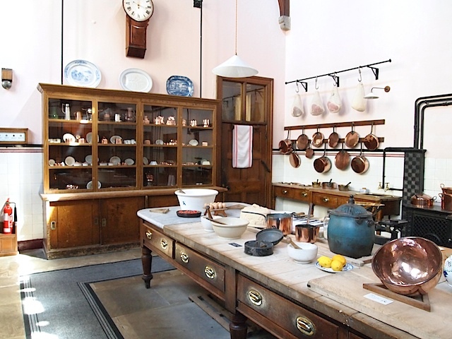 The Kitchen - Lanhydrock House - Bodmin - Cornwall - England