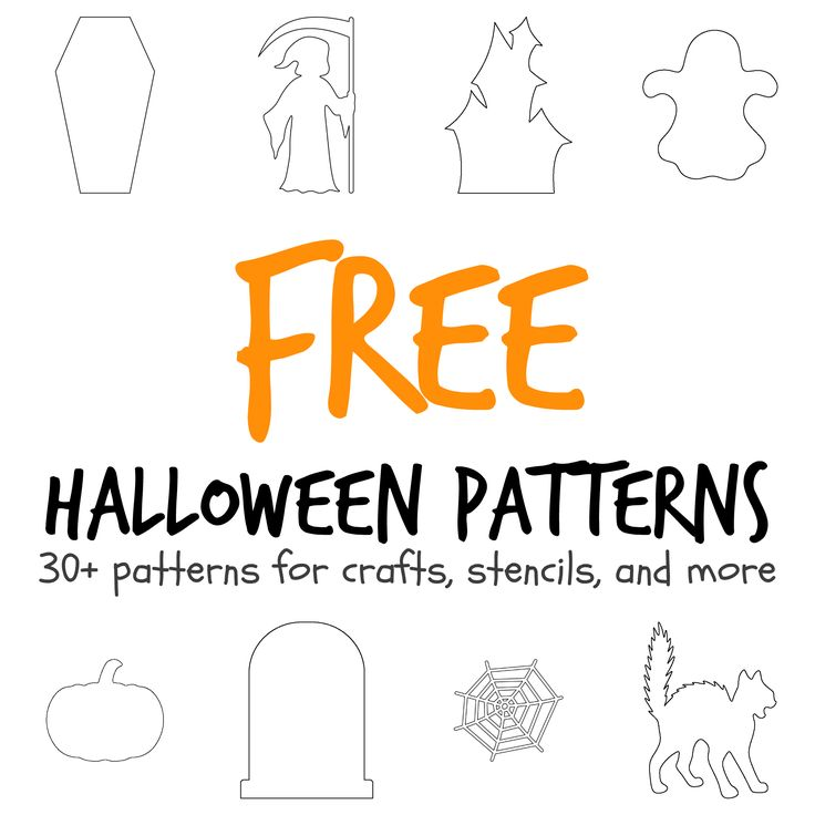 More than 30 Halloween-themed patterns including a coffin, haunted house, tombstone, and more. Free PDF downloads at http://patternuniverse.com/category/halloween/
