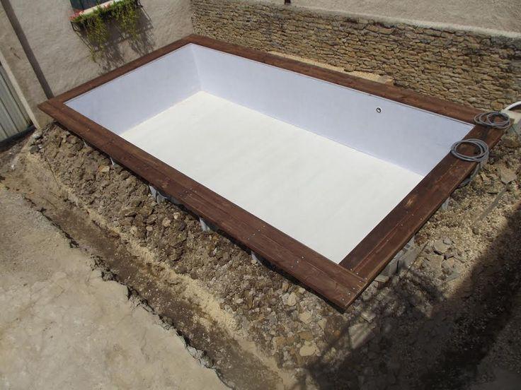piscine bois enterre rectangulaire 6x3 httpsyoutubebpcpljaohh4 - Piscine Bois Rectangulaire Enterree