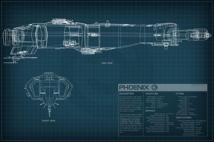 Phoenix - Caldari Dreadnaught