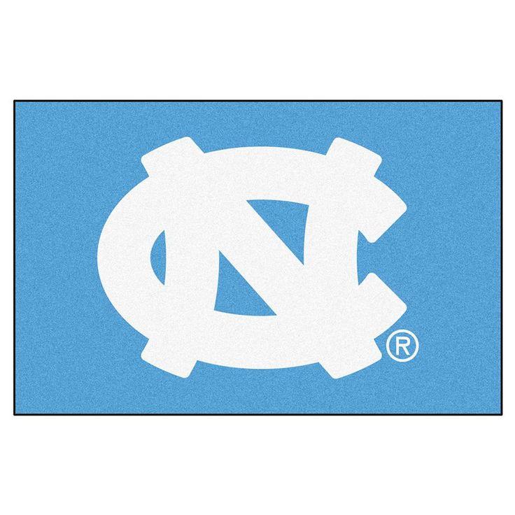 """Unc - Chapel Hill Ncaa """"starter"""" Floor Mat (20""""x30"""") Nc Logo"""