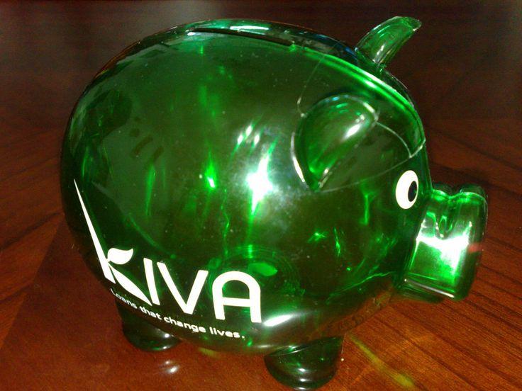 Článek o charitativní činnosti a projektu Kiva.org
