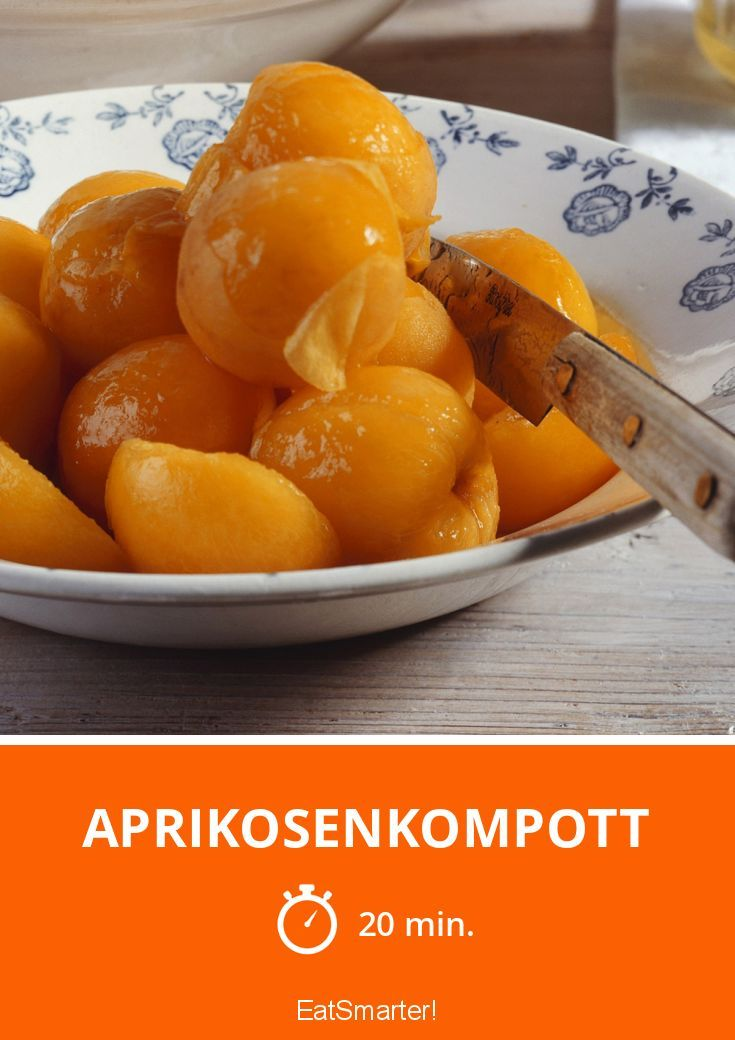 Aprikosenkompott - smarter - Zeit: 20 Min. | eatsmarter.de