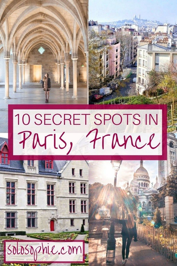 Hidden Paris: Secret spots in the city of lights you should totally know about. 10 hidden destinations in Paris that are off the beaten tourist track and well worth a visit!