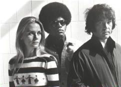 The Mod Squad tv series: Peggy Lipton, Clarence Williams III and Michael Cole