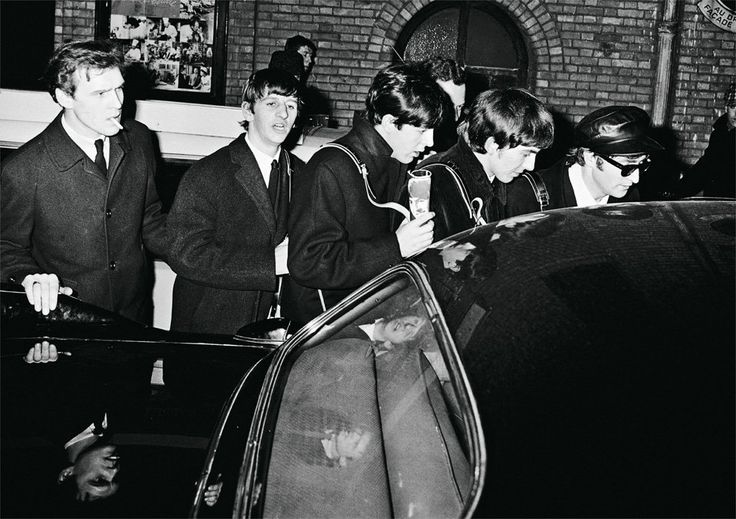 Harry Benson's Luminous Black-and-White Photographs of The Beatles, 1964-1966 | Brain Pickings