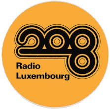 208 Radio Luxembourg, great late night listening.