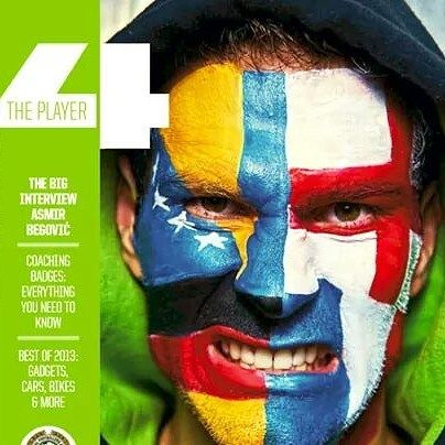 #asmirbegovic #eurofootball #coverimage #profacepainters  loved doing this gig a few years back seems a good time to share it again. #stokecityfc