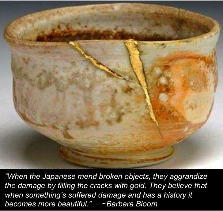 Kintsugi / Mending Our Brokenness