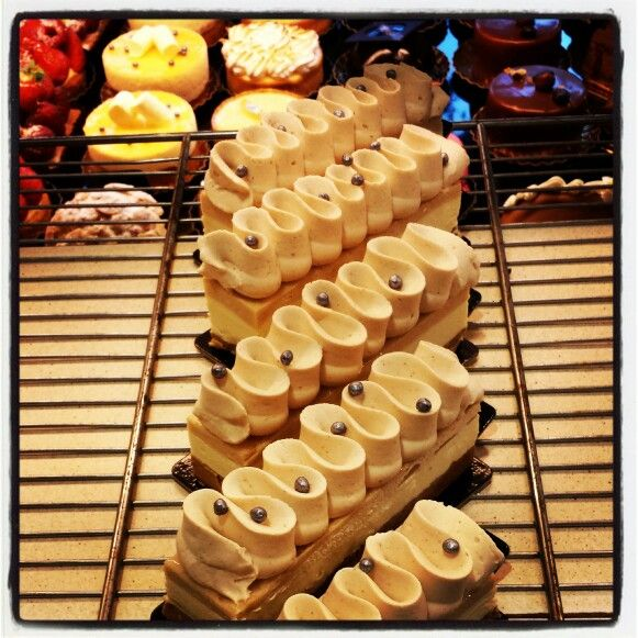 French pastry  Speculoos  White chocolate  Chestnut