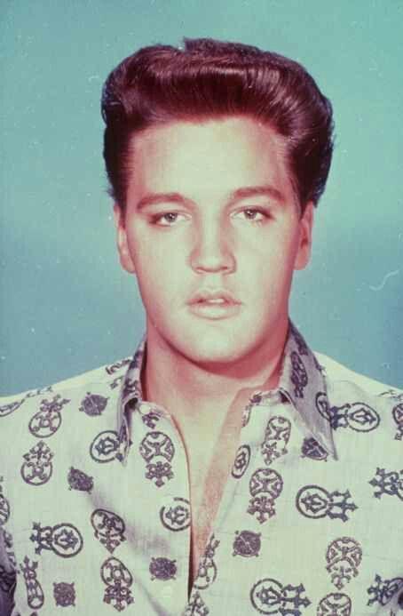 Elvis Presley Natural Hair Color