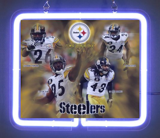 Pittsburgh Steelers Power Defensive Backs Brand  Neon Light Sign