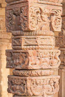 Qutb Minar, Qutab Minar, Column, India #India #ar…