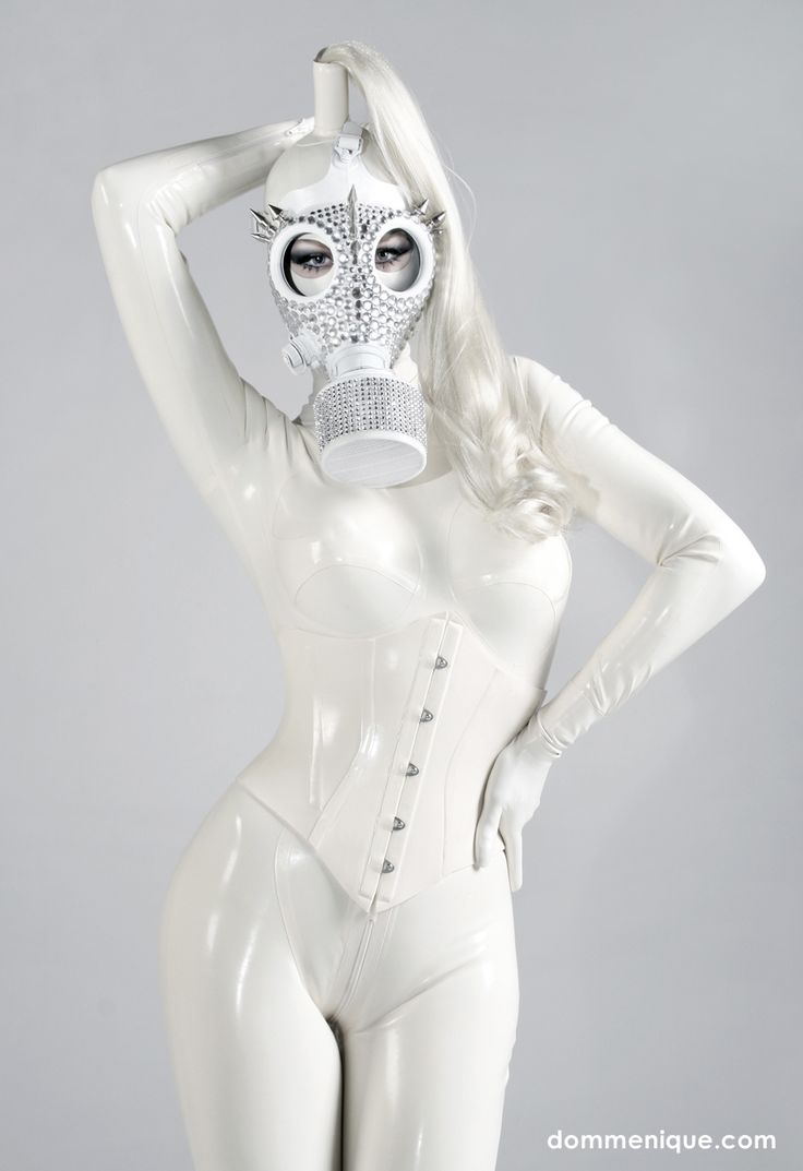white latex fetish