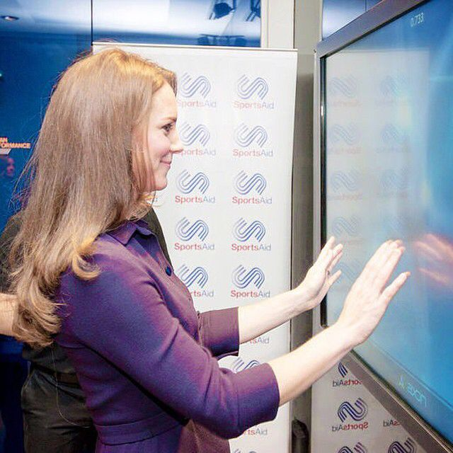 The Duchess of Cambridge, patron of SportsAid, attended a workshop this afternoon (12/11/2014) and met with young aspiring athletes and coaches who hope to represent Team GB at the Tokyo 2020 Olympics.