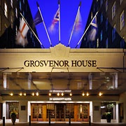 Grosvenor House, A JW Marriott Hotel  London, England    (Not only is this a wonderful hotel and the staff is so polite and professional.. they also have the most amazing pink champaign from France by the glass. I just wish I could remember the name.)