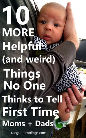 I totally agree these are really helpful for new parents but for some reason no one thinks to tell first time moms and dads. Great list. (ad)