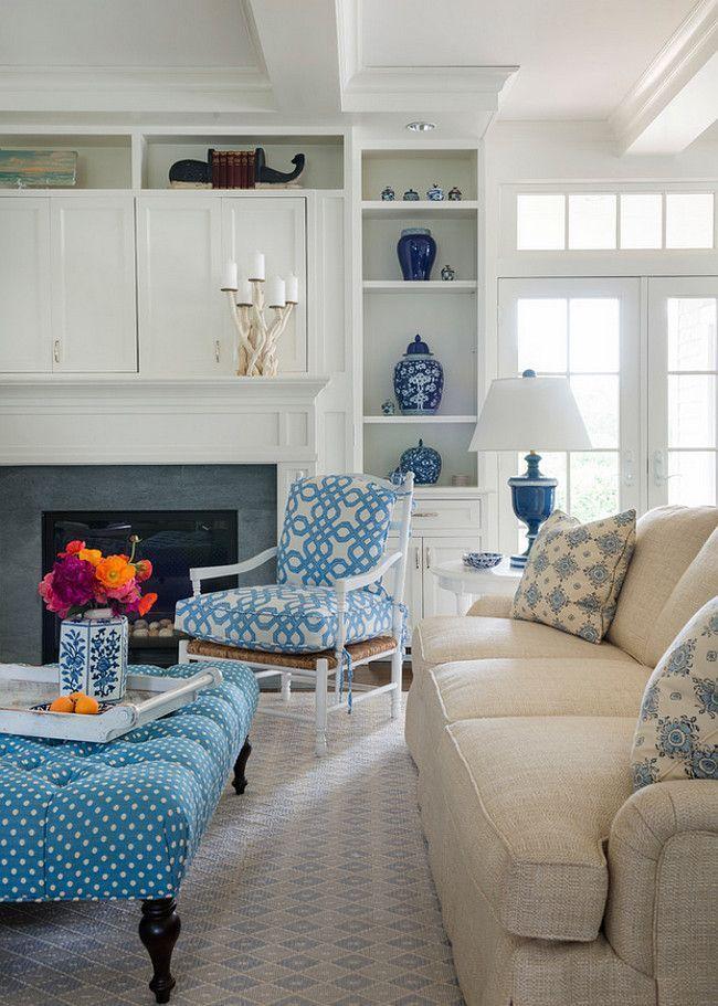 Rhode Island Beach Cottage with Coastal Interiors