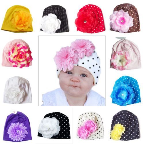 Cute Baby Floral Beanie Hat.     Tag a friend who would love this!     Buy one here---> https://littleunsonline.com/shop/cute-infant-newborn-baby-hats-toddler-kids-girls-knitted-beanie-caps-headwear-cotton-dot-floral-caps/