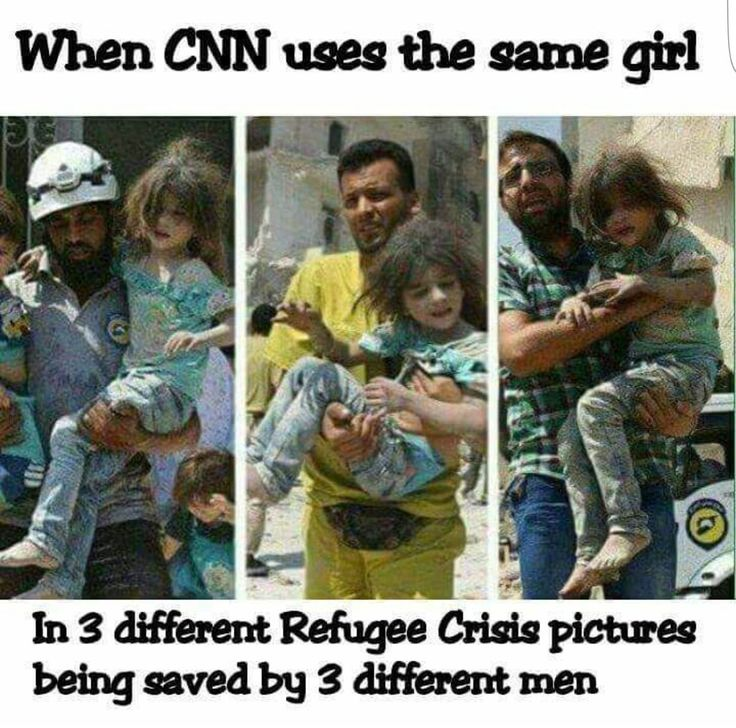 3 Different Refugee Crisis in 3 Different Time Periods (GAZA, Iraq, Aleppo) WITH 3 Different Men!!!  CNN - COMMUNIST News Network