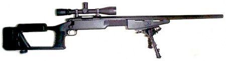 Remington 700 with Choate Super Sniper Stock 7.62x51mm NATO