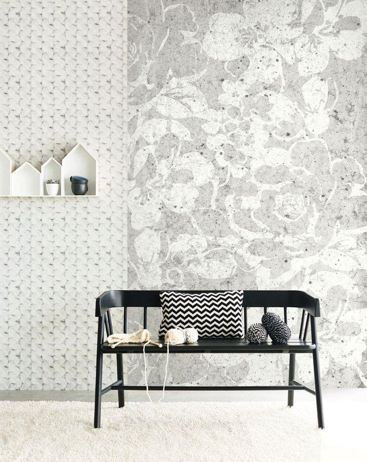 black and light wallpaper eijffinger