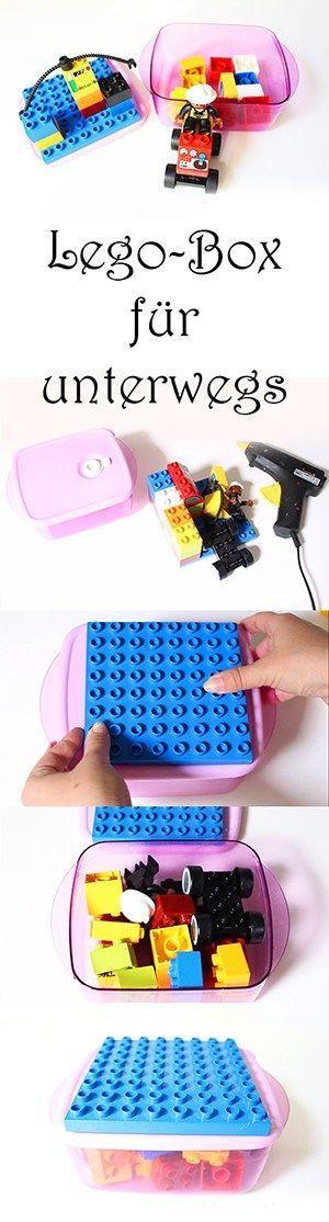 Reisespiele für Kinder - Lego-Box für unterwegs