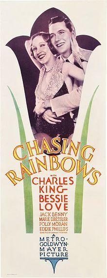 Chasing Rainbows. Bessie Love, Charles King, Jack Benny, George K. Arthur, Polly Moran, Gwen Lee, Marie Dressler. MGM. Directed by Charles Reisner. 1930