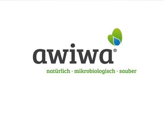 Redesign des Logos für die Firma awiwa®. |  #design #logo #butterfly #green #blue #blau #Schmetterling #grün #reinigungsmittel | made with love in Stuttgart by www.smoco.de