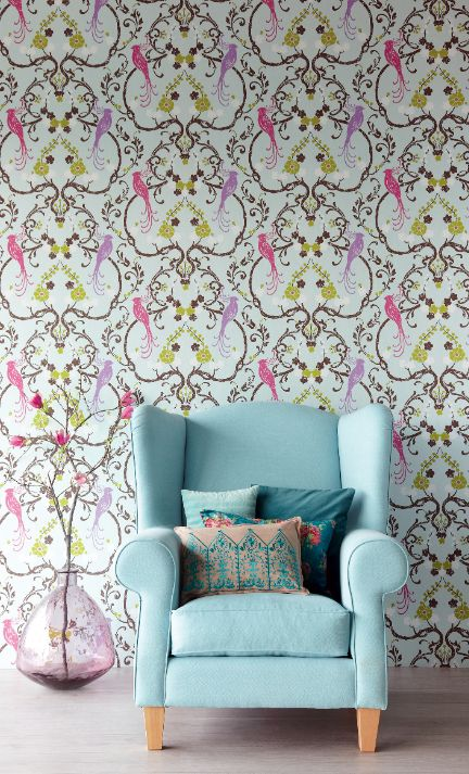 17 Best Images About Wallpaper Textiles On Pinterest Romantic Retro Vintage And Home Decor